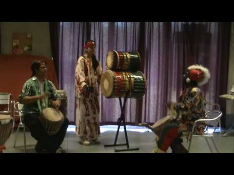 The Drummers of the Dijle Mandeng Percussion [HD]