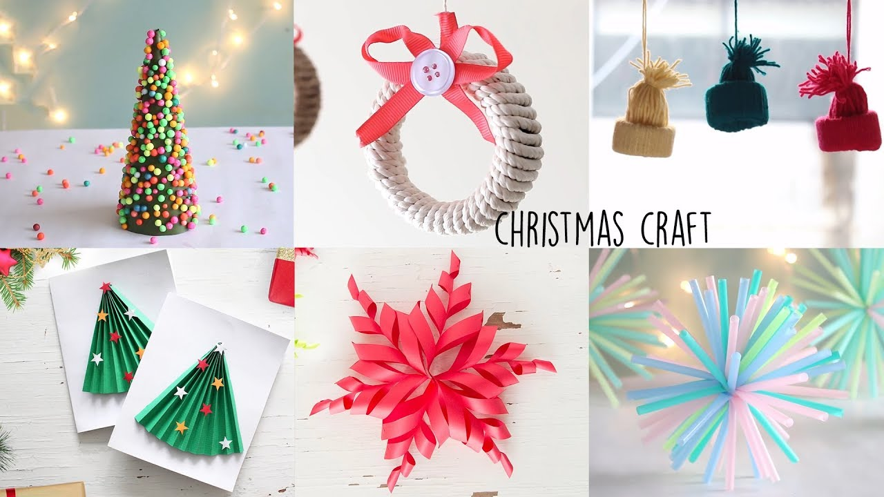 Christmas Craft Ideas | DIY Christmas Room Descor | Christmas Gift ...