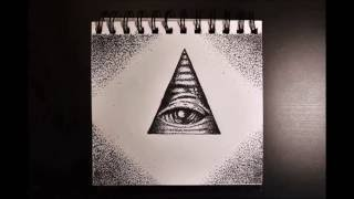 ALL SEEING EYE Speed Drawing- Stippling Technique