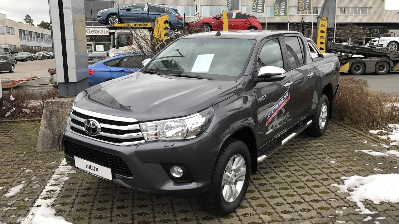 TOYOTA HILUX PICK UP INVINCIBLE DOUBLE CAB !! 2017 !! GRAY ...