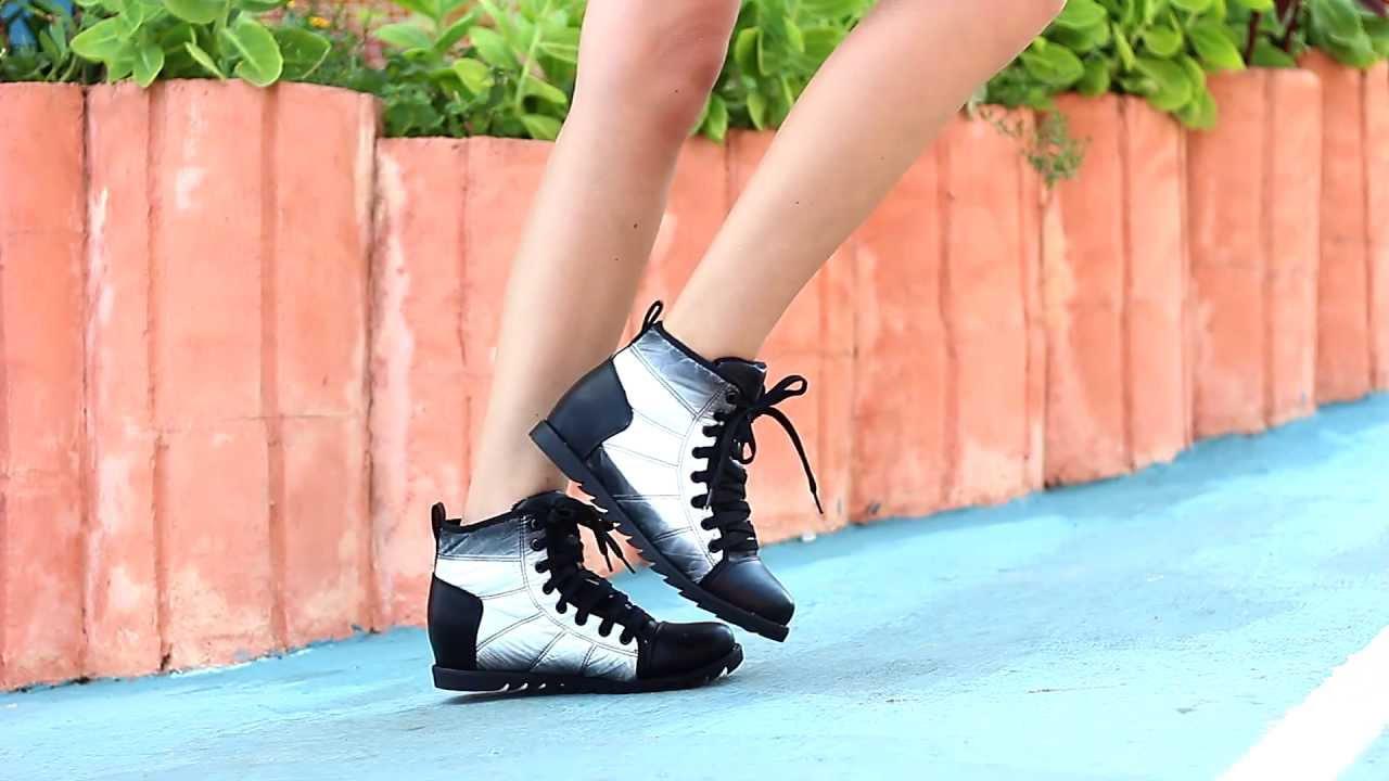 48af213b447 Спортни дамски обувки от Кокетна - YouTube