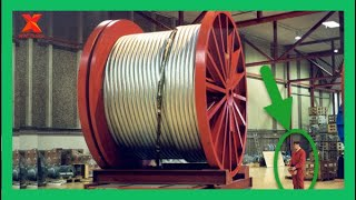 Super Huge Steel Wire Rope Manufacturing Process | How are they made?