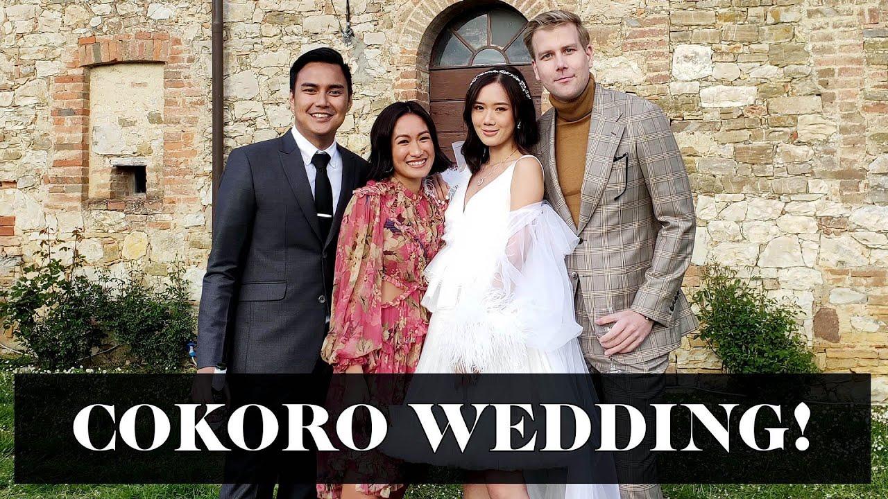 Cokoro Wedding In Italy Joni And Camille Co Koro Youtube,Elegant Knee Length Stunning Wedding Guest Dresses