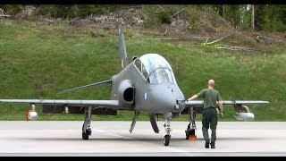 Hawk start engine: Finnish air force