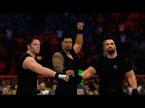 WWE 2K15 - The Shield vs Evolution (Elimination Tag) 1080p HD