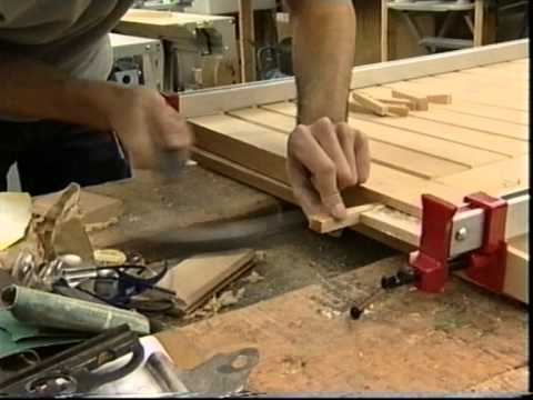 Making Furniture Show   -Smith And Sweetman Workshop- Church Pew Part 2
