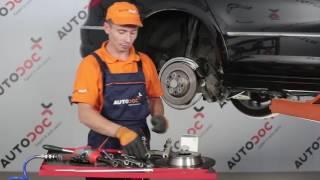 VW / AUDI / SKODA Zadní brzdové kotouče | Zadní brzdové destičky [NÁVOD]