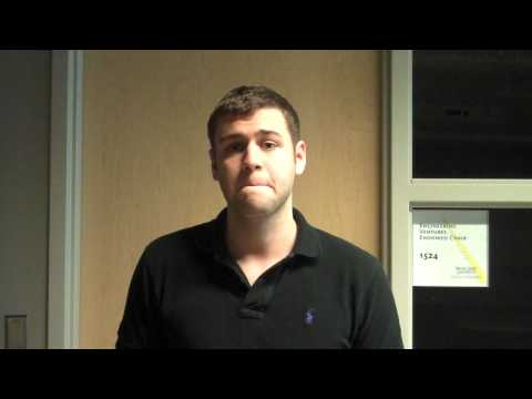 Ryan Goins at Startup Weekend Detroit