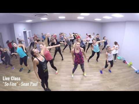 "LIVE CLASS - ZUMBA FITNESS® : ""So Fine"" / Sean Paul"