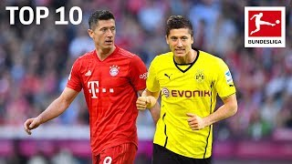Lewandowski, Götze & Co. - Top 10 Players who Played for Bayern München & Borussia Dortmund