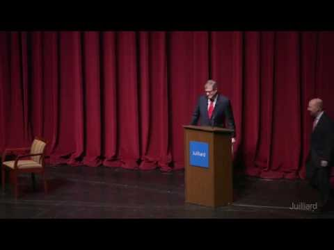 Juilliard Public Forum: Character, Culture, and Diplomacy