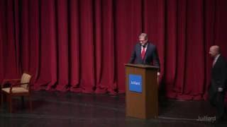 Juilliard Public Forum: Character, Culture, and Diplomacy