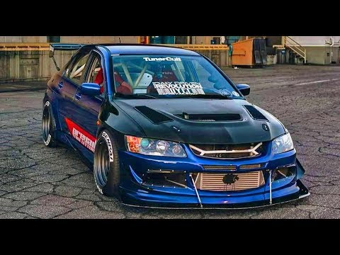 Big TURBO Power Engines of Mitsubishi LANCER EVO