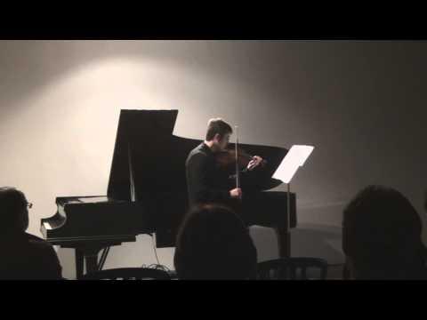 Stanislav Pronin - Berio Sequenza VIII for Solo Violin
