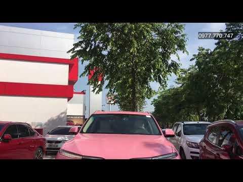 Vinfast Lux SA màu hồng - Sơn màu theo yêu cầu Vinfast Lux SA - Customi Fashion