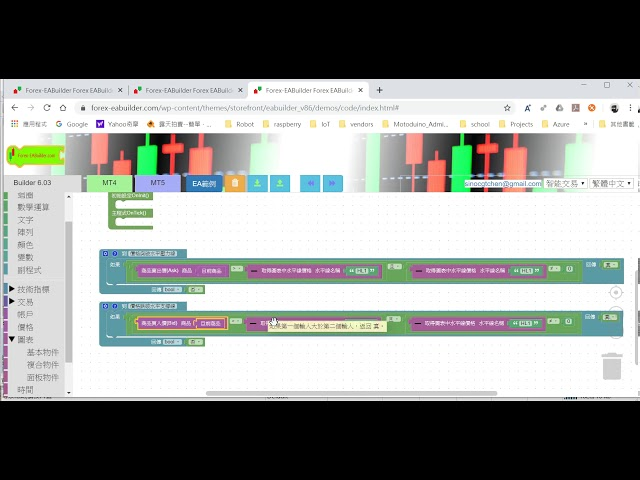 畫線支撐線壓力線半自動EA (Draw support/resistance lines on the chart)