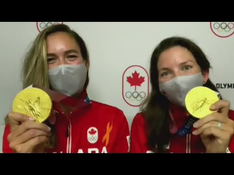 'Fairy tale ending': Gold medal winners Suzanne Grainger and Andrea Proske
