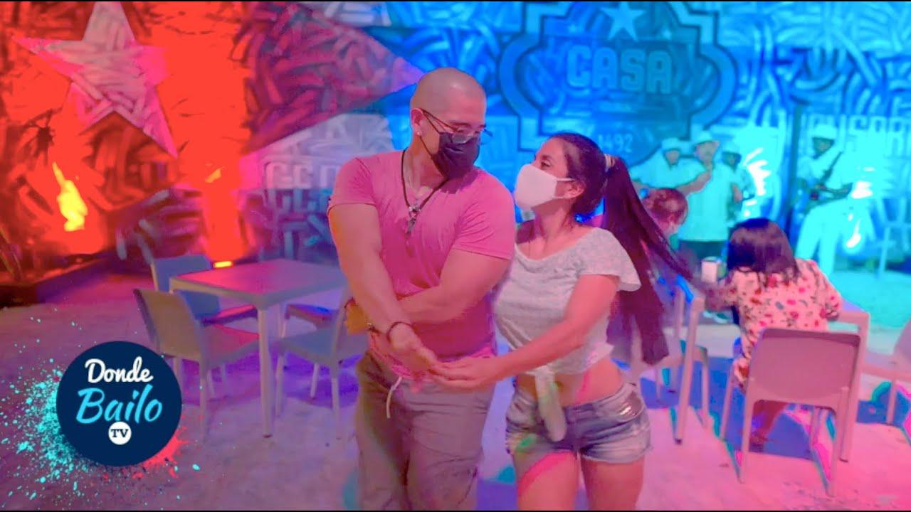 Bailando Salsa en Mérida Yucatán México 2021 | Casa Cuba