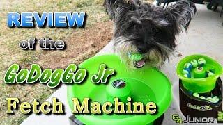 Review of the GoDogGo Jr (Automatic Fetch Machine)