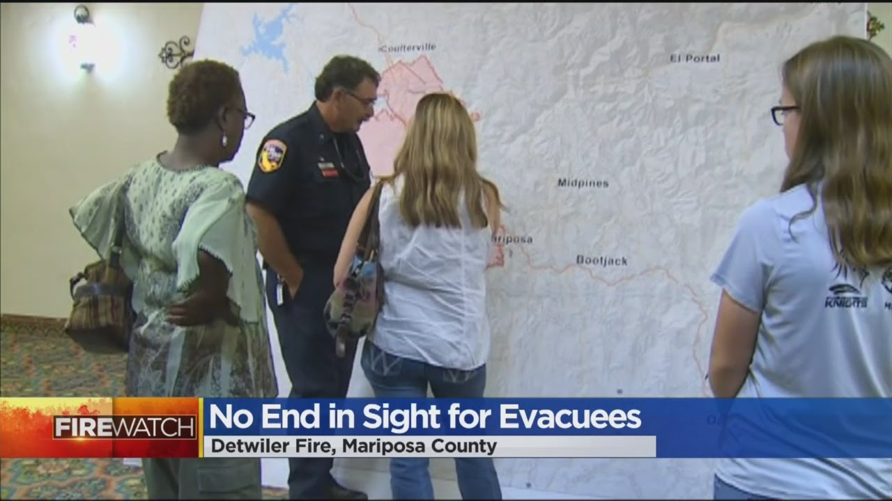 Detwiler Fire Evacuees Stuck In Limbo As Blaze Continues To Grow