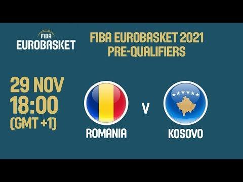 Romania v Kosovo - Full Game - FIBA EuroBasket 2021 Pre-Qualifiers 2019