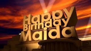Happy Birthday Majda