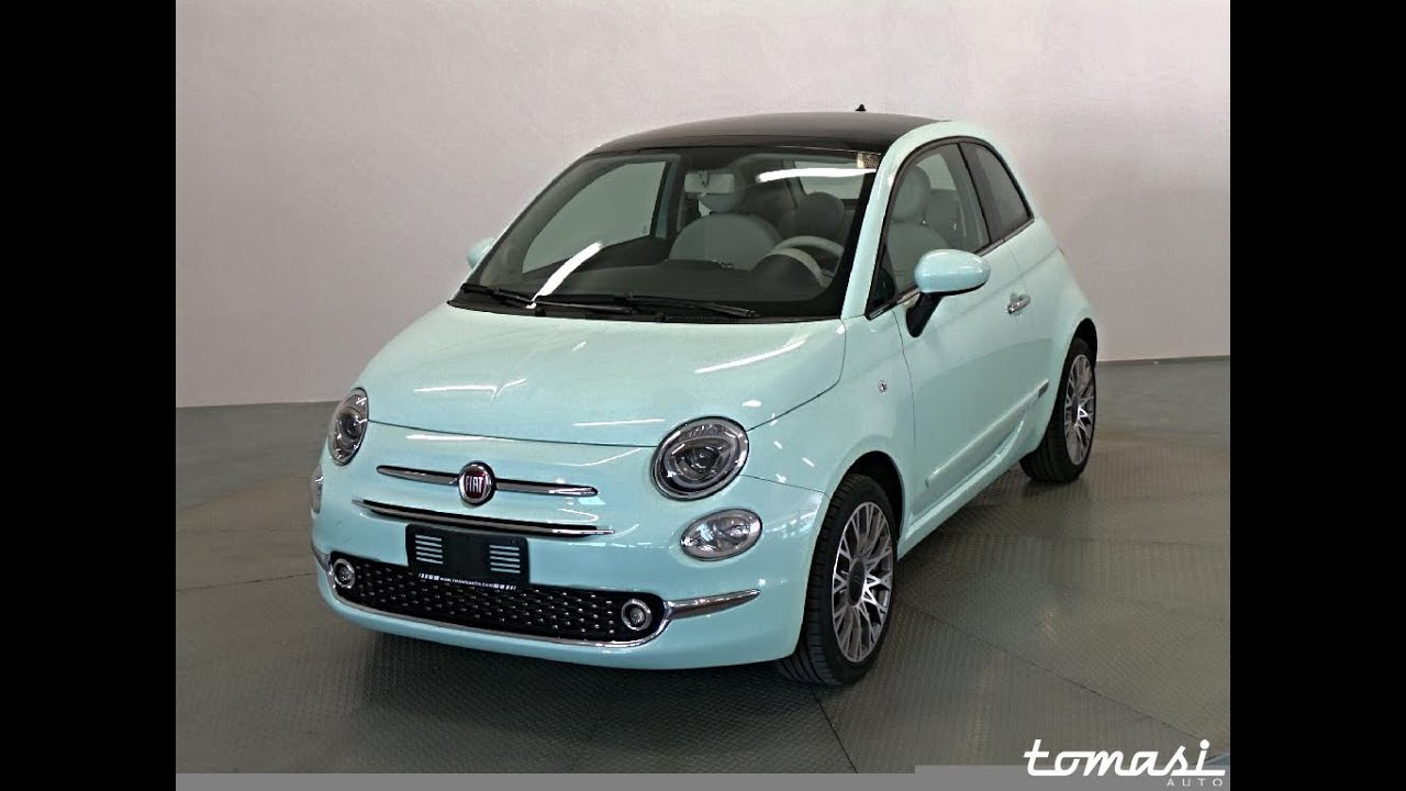 fiat 500 1 2 lounge verde latte menta restyling 2016 youtube. Black Bedroom Furniture Sets. Home Design Ideas