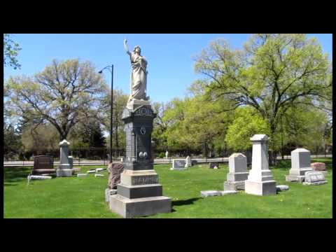 Bohemian National Cemetery In Chicago 2010