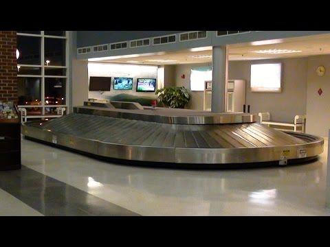 Baggage Claim Carousel at Lynchburg Regional Airport LYH