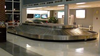 Baggage Claim Carousel at Lynchburg Regional Airport LYH