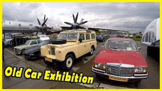 Old Car Exhibition Review 2018. Classic Motor Show 2018. Vintage Cars Show 2018