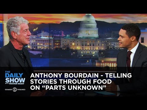"Anthony Bourdain – Telling Stories Through Food on ""Parts Unknown"" 