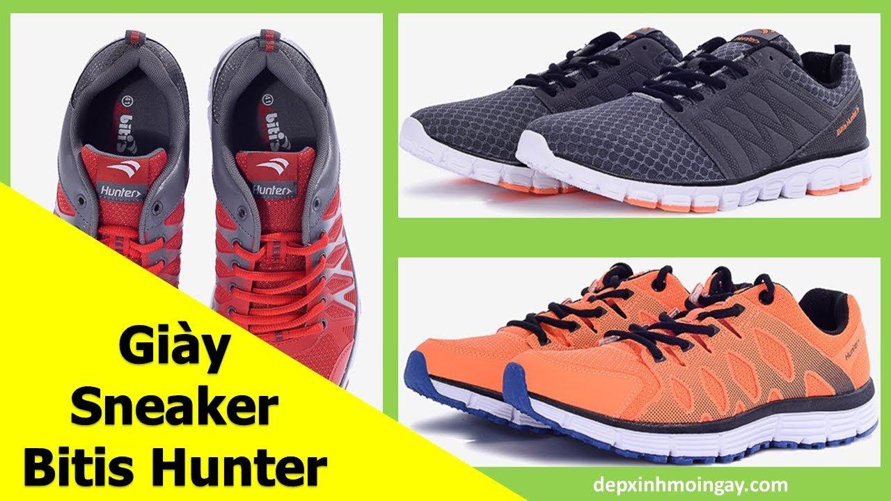 Top 10 Mẫu Giày Sneaker Nam Đẹp | Giày Thể Thao Nam Bitis Hunter Phần 7