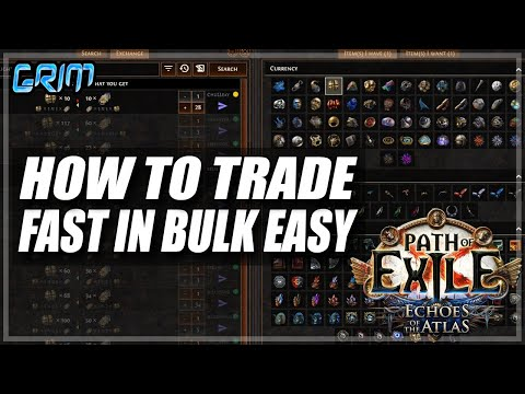 [PoE 3.13] Currency Earning Tip How To Buy And Sell In Bulk