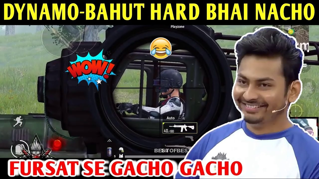 DYNAMO - BAHUT HARD BHAI NACHO | PUBG MOBILE | BEST OF BEST