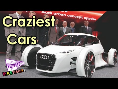 Top 10 Craziest Ever Concept Cars In the World || Pastimers