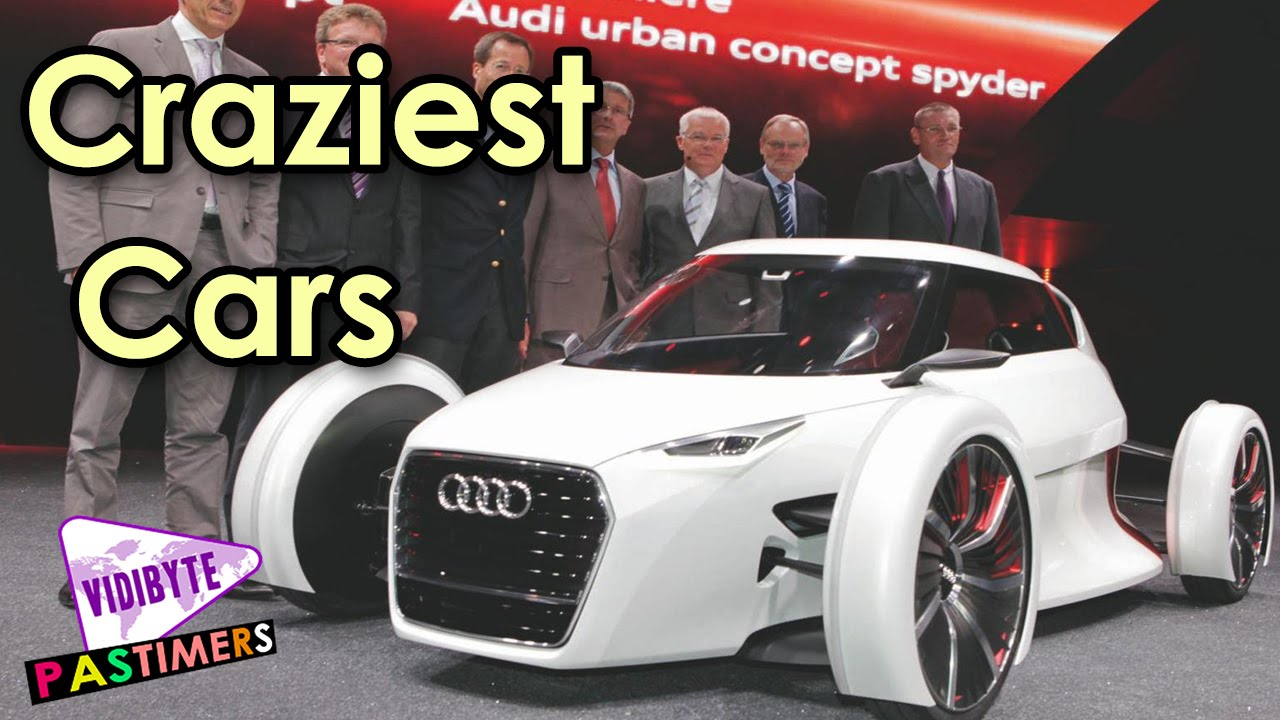 Top 10 Craziest Ever Concept Cars In the World || Pastimers - YouTube