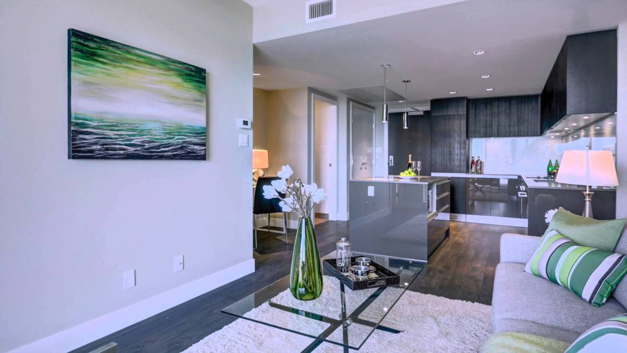 vacant home staging by staging calgary stunning transformation of downtown condo youtube. Black Bedroom Furniture Sets. Home Design Ideas