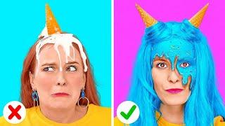 أفكار مخيفة وممتعة لحفلات الهالوين || أفكار اللحظة الأخيرة لأزياء الهالوين التنكرية