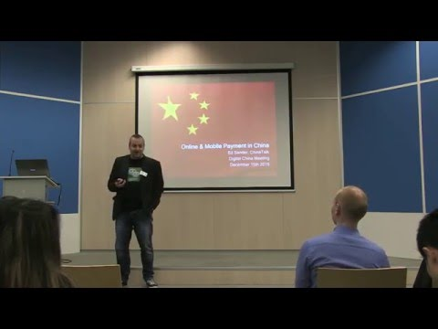DC#1 - The latest developments in online and mobile payment in China - Ed Sander