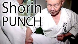 Minoru Higa's practice #1 | PUNCH | 比嘉稔先生 | 小林流究道館|初心者向け沖縄伝統空手