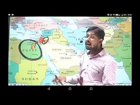 9. World Map 🗺️ Asia 🌏 Middle East countries part 1 Overview by khan sir