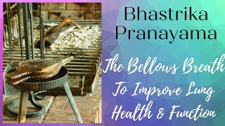Improve Lung Health and Function with Guided Bhastrika Pranayama (Bellows Breath)