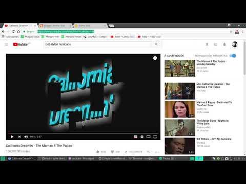 Descargar música de youtube en ubuntu/Linux
