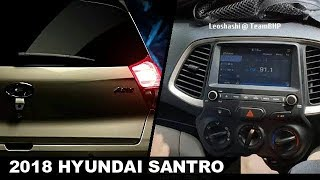 2018 Hyundai Santro Price & Interior Leaked Ahead Of Launch