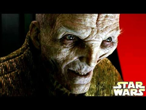 Why Supreme Leader Snoke Uses the Light Side of The Force - Star Wars Theory