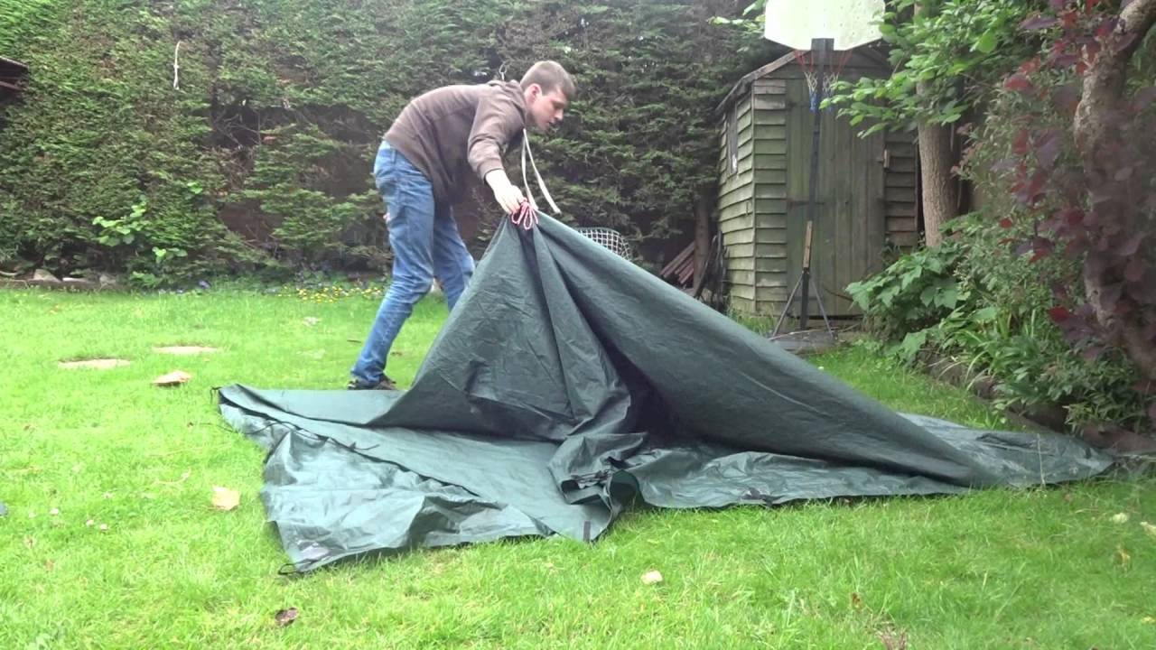 sc 1 st  YouTube & DD XL Tarp Tent With Floor - YouTube