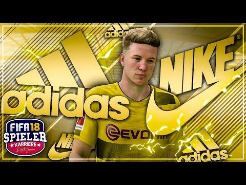 NIKE oder ADIDAS!?? 😏 5.000.000€ SPONSORDEAL!!! 🤑💸 - FIFA 18 Spielerkarriere mit STORY #17 (Deutsch)
