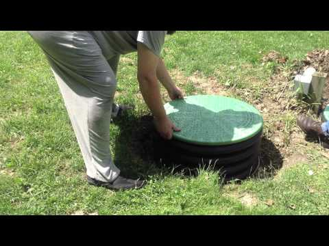 Septic Tank Covers in Green