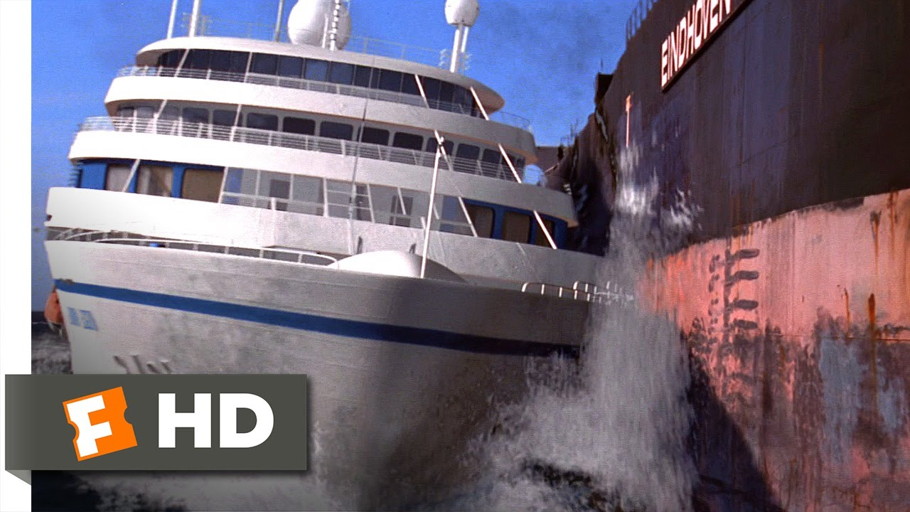 Speed Cruise Control Movie CLIP We Have A Miss - Cruise ship speed